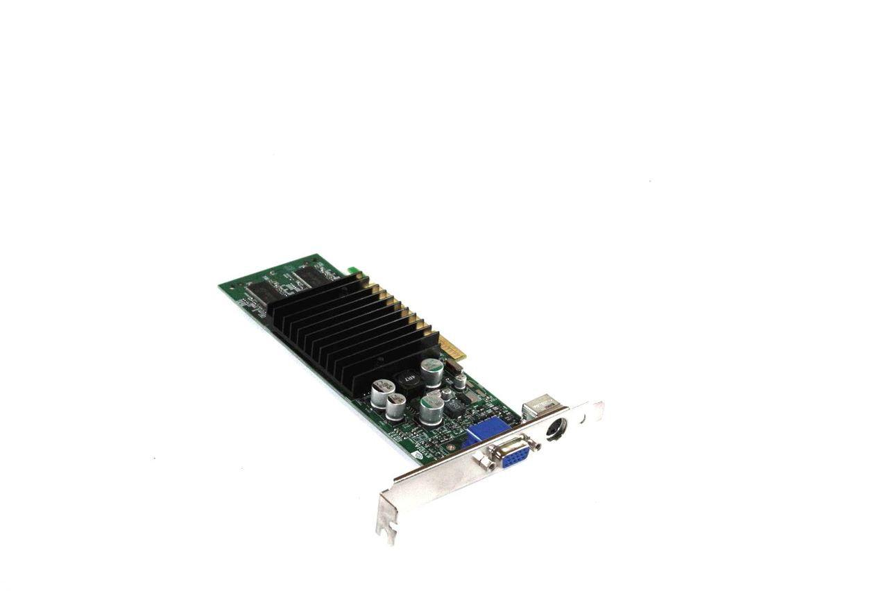 Genuine NVidia GeForce2 MX-200 High Profile PCI-E 32MB Video Card 032-A4-NV36-01