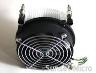 Genuine HP Compaq 8000 Elite Tower (CMT) 4-Pin CPU Heatsink & Fan 577795-001