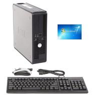 Dell SFF Desktop Computer PC Core 2 Duo 2.40GHZ 4GB 80GB Windows 7 PRO