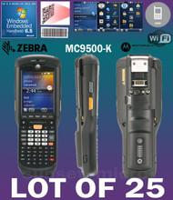 Lot of 25 Motorola / Zebra MC9596 MC9500-K  Hand Held Computer 1D/2D Barcode Scanner KFAEAB00100