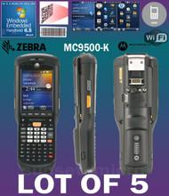 Lot of 5 Motorola / Zebra MC9596 MC9500-K  Hand Held Computer 1D/2D Barcode Scanner KFAEAB00100