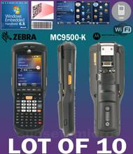 Lot of 10 Motorola / Zebra MC9596 MC9500-K  Hand Held Computer 1D/2D Barcode Scanner KFAEAB00100