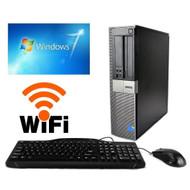 Dell GX960 Desktop C2D 3.0GHZ 1TB 4GB DVDRW WIFI Windows 7 PRO