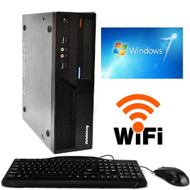 IBM Lenovo Thinkcentre M58 PC Desktop Computer Core 2 Duo 3.0GHz 4GB 160GB DVD Windows 7 WIFI