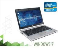 HP EliteBook 2560P Laptop Core i7  2.80GHZ 4GB 160GB SSD DVDRW  Windows 7 PRO 64 Bit