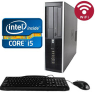 HP 6200 Elite Desktop Core i5-2120 3.3GHZ 250GB 4GB DVDRW WIFI Windows 7 PRO