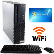 Lenovo Thinkcentre M77 Desktop Computer PC  AMD  Phenom II X2 B57 3.20GHz 8GB 1TB DVDRW Win 7 Pro 64-Bit WIFI