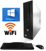 HP PRODESK 600 G1 DESKTOP  8GB RAM, 1TB HDD, WINDOWS 10 Home Premium WiFi