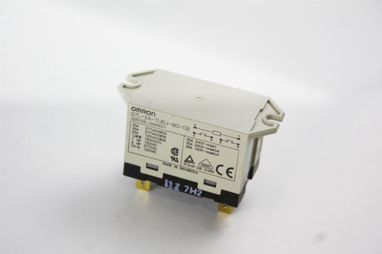 Genuine Omron 24vdc Enclosed Power Relay G7l