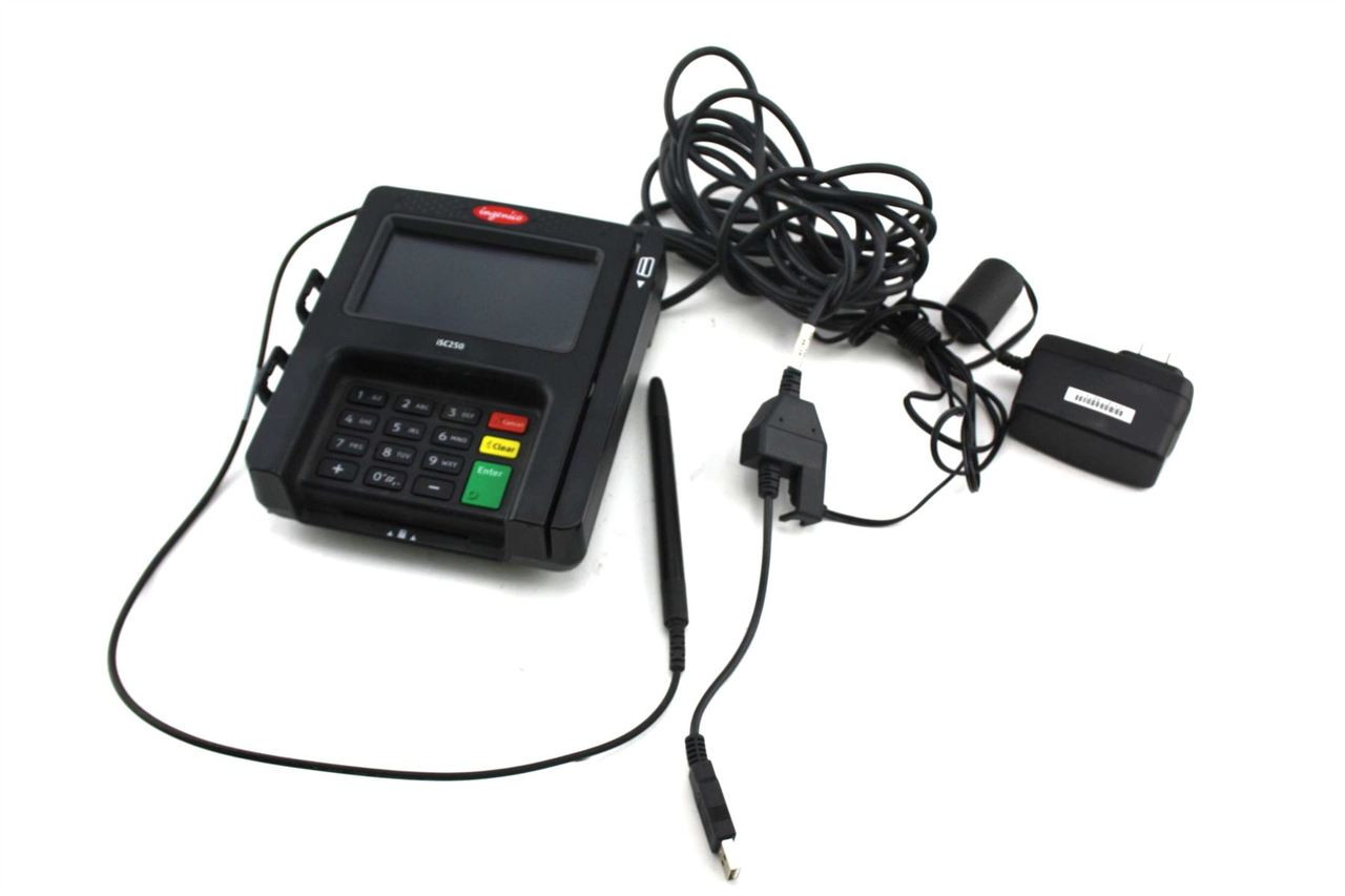 INGENICO iSC250 iSC Touch 250 POS Payment Credit Card Terminal