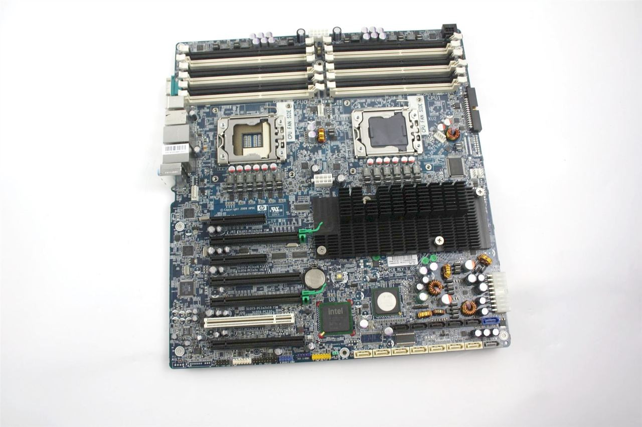 HP Z800 Workstation Dual Xeon LGA1366 System Board 461437-001 460838-003