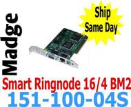 Madge Smart Ringnode 16/4 BM2 PCI Card 151-100-04S 00094407