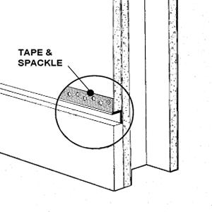 Aluminum Drywall Trim / Z Shadow Bead 1/4