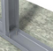 """MidWall™ Kneewall Brace wall width x 48"""" height Structurally Rated Load Bearing"""
