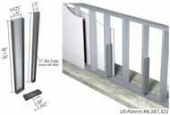 "MidWall™ Kneewall Brace Kit 6"" wall width x 48"" height Structurally Rated Load Bearing"