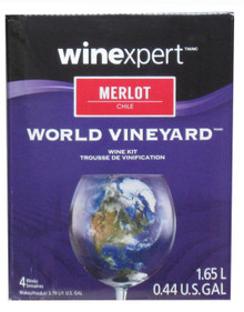 World Vineyard Chilean Merlot Wine Kit