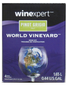 World Vineyard Pinot Grigio Wine Kit