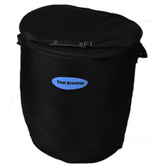 Cool Brew Fermentation cooler, side