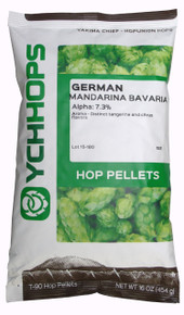 German Mandarina Bavaria Hop 1 pound Package