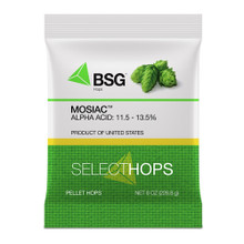 Mosaic Hop Pellets, 8 oz Package