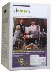 Vintner's Best Deluxe Wine Making Equipment Kit Box