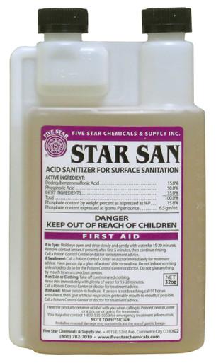 Five Star Star Sans 16 oz. Bottle