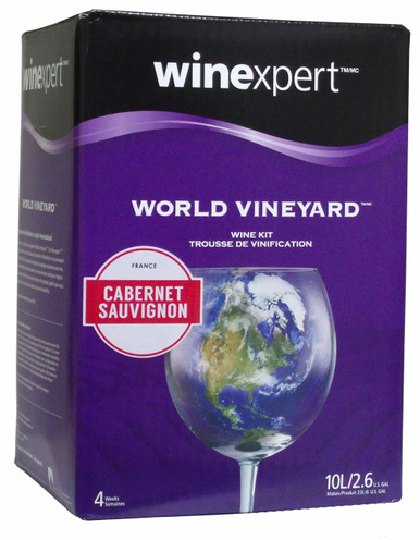 World Vineyard French Cabernet Sauvignon Wine Kit