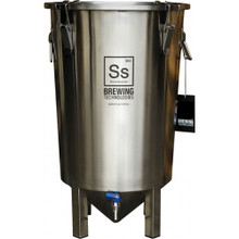 The Brew Bucket 7 Gallon Stainless Steel Fermenter