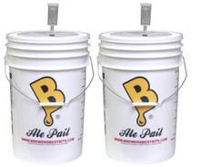 6.5 gallon food grade fermenters
