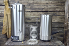 Anvil Foundry 10.5 gallon brewing system components