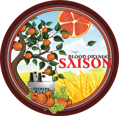 Blood Orange Saison