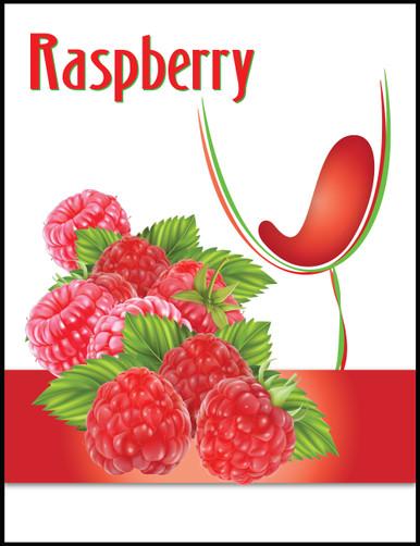 Island Mist Raspberry Wine Bottle Label