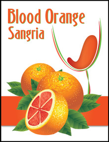 Island Mist Blood Orange Sangria Labels