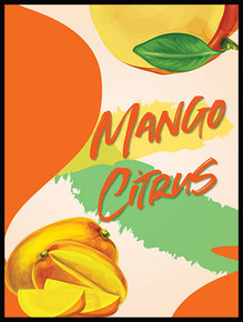 Mango Citrus Island Mist Wine Labels