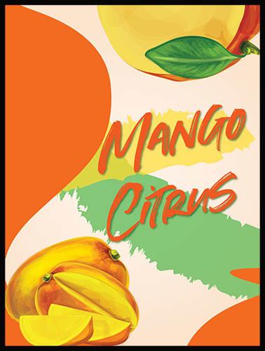 Mango Citrus Island Mist Wine Labels
