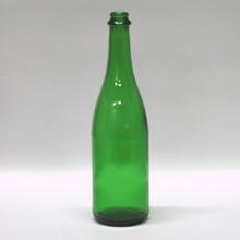 750 ml Green Champagne Bottles