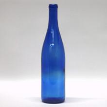 750 ml Cobalt Blue Hock Bottles