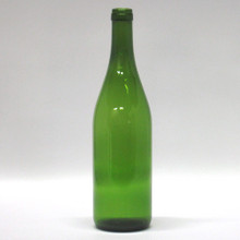750 ML Champagne Green Simi-Punt Burgundy Bottles