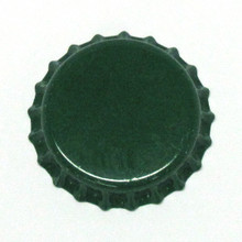 Green Oxygen Barrier Crown Caps