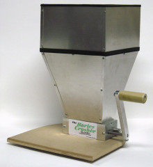 The Barley Crusher Grain Mill with 14 lb Hopper