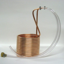 "Immersion Wort Chiller - 3/8"" x 25'  Copper Tubing"
