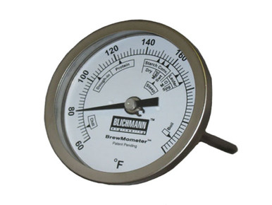 """BrewMometer 3"""" Dial Face Thermometer"""