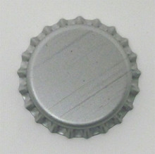 Silver Oxygen Barrier Crown Caps