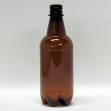 500 ml P.E.T. Amber Bottle