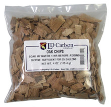 4 oz bag light toast oak chips