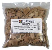 4 oz bag light toast oak chips