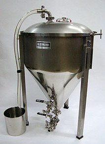 27 Gallon Conical Fermentor with Tri-clamp Fittings