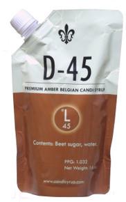 D-45 Premium Amber Belgian Candi Sugar
