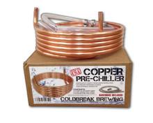 """Copper Pre-Chiller 3/8"""" x 12.5'"""