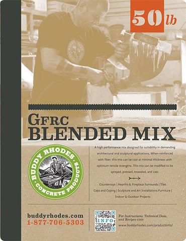 Buddy Rhodes GFRC Blended Mix Label